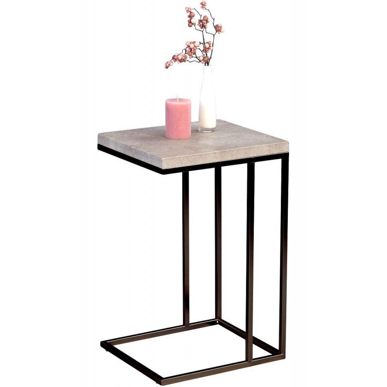 beistelltsich guido betonoptik beim bel wohnen m bel j hnichen center gmbh. Black Bedroom Furniture Sets. Home Design Ideas