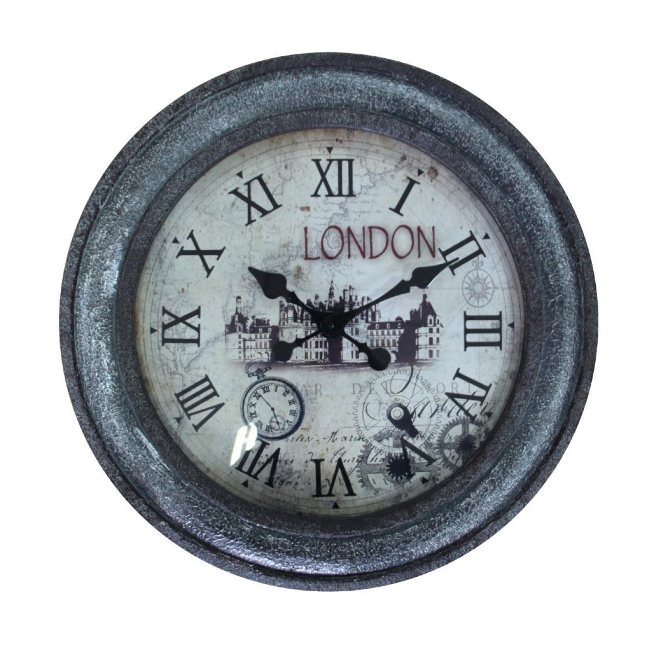 Uhr London im Vintage Look