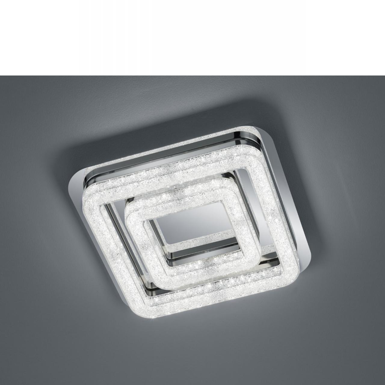 LED Deckenleuchte Chalet - eckig