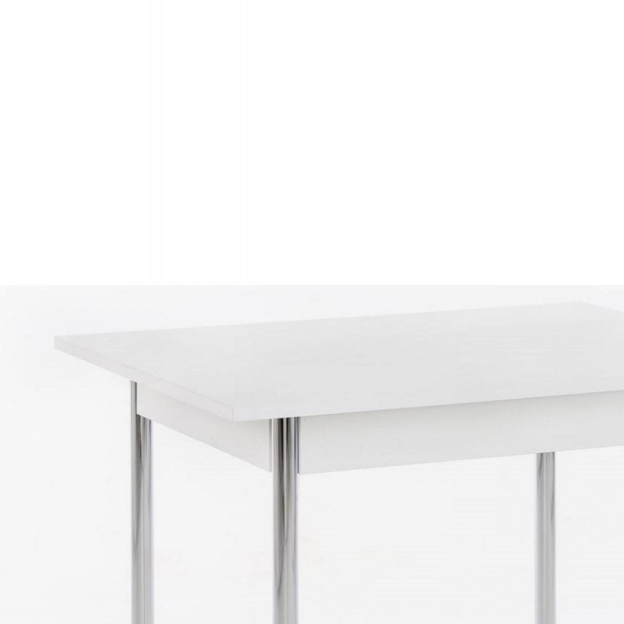Vierfusstisch Köln II T - Weiß