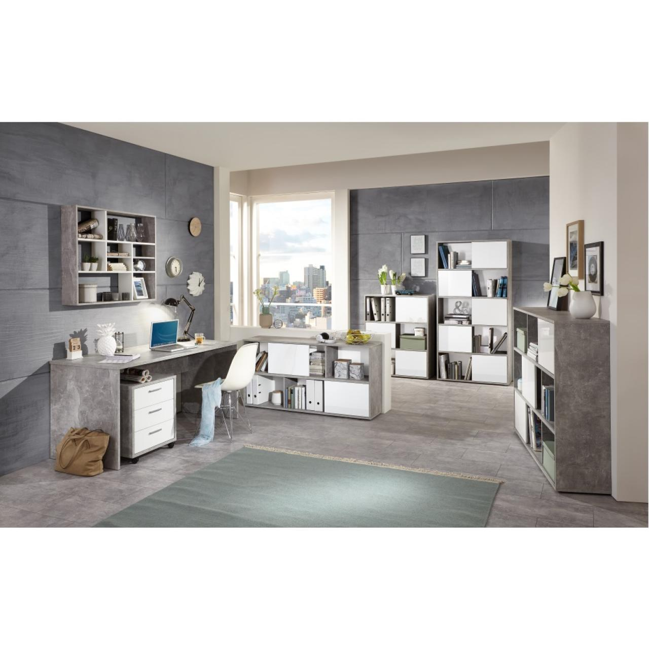 wei hochglanz regal great medium size of kleines. Black Bedroom Furniture Sets. Home Design Ideas