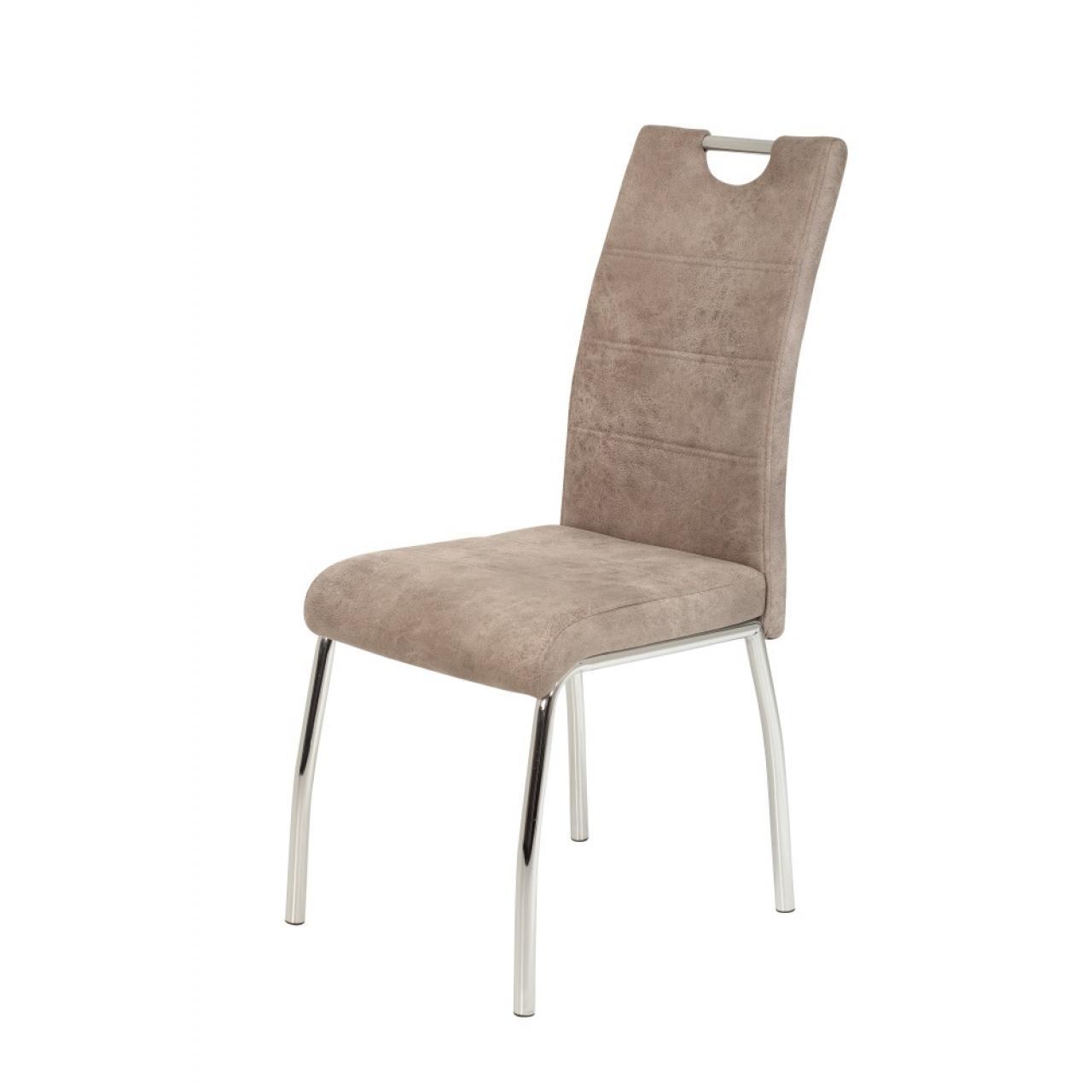 4-Fuß Stuhl Susi - Beige
