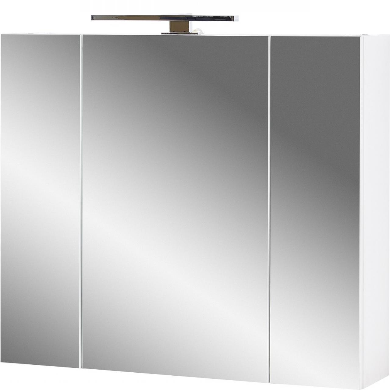 Spiegelschrank Pescara 2754 Badezimmer Badmöbel Gäste-WC Badezimmerschrank