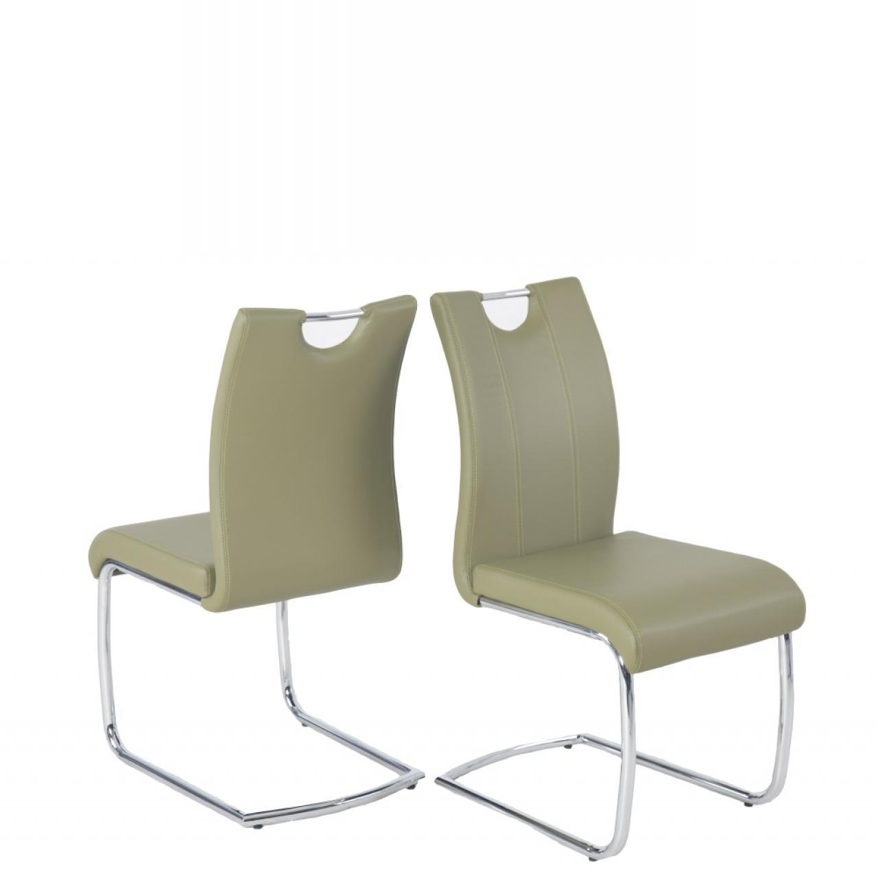 Stuhl Svenja in Grau