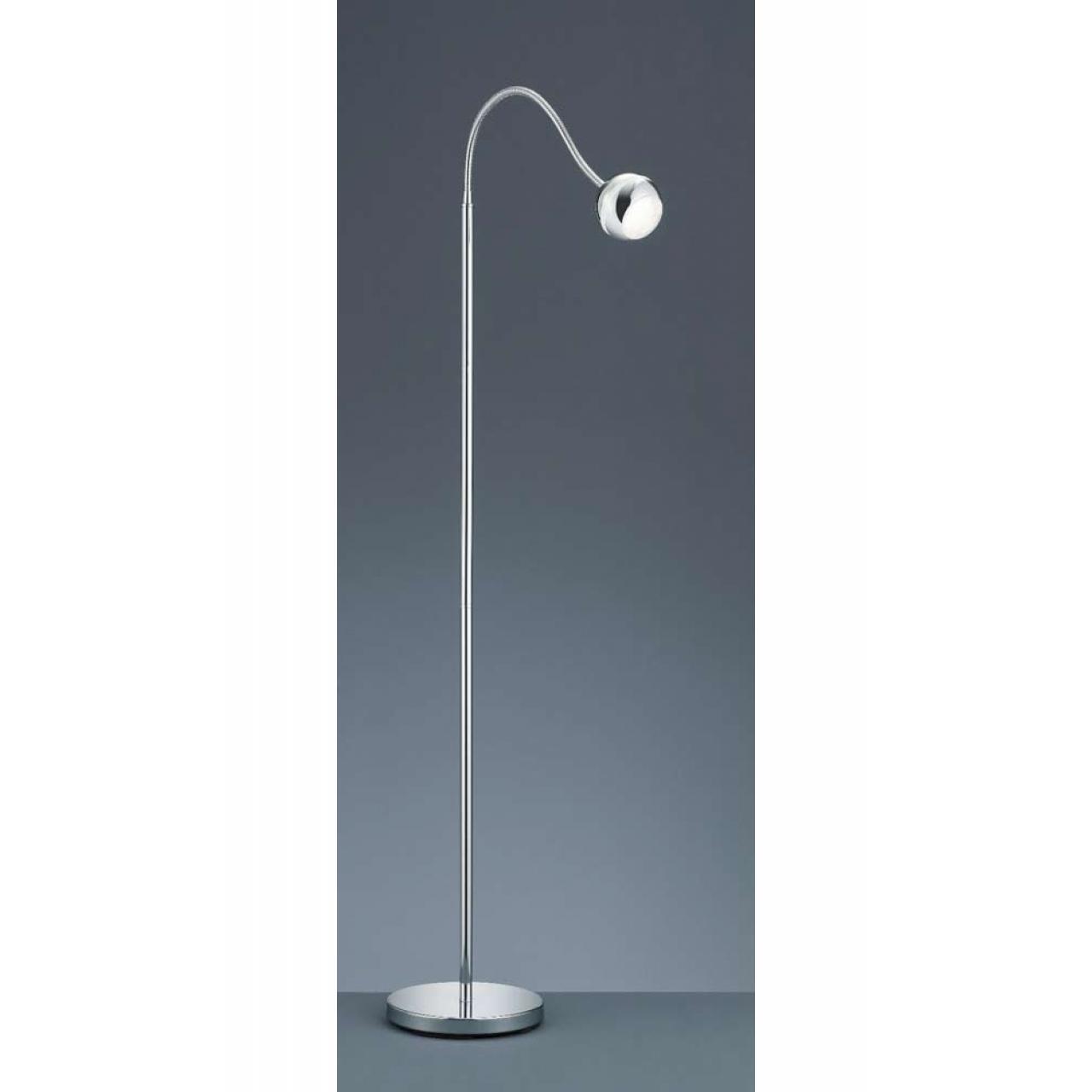 LED-Stehleuchte mit Flexarm