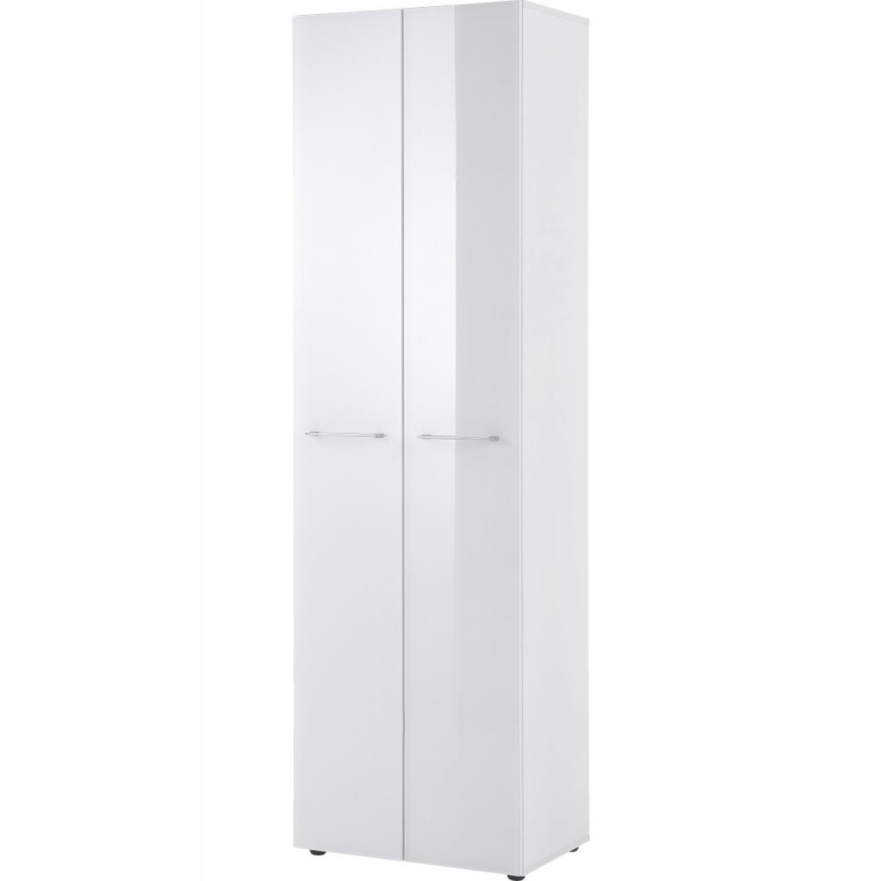 Garderobenschrank MJ in Weiß aus MDF
