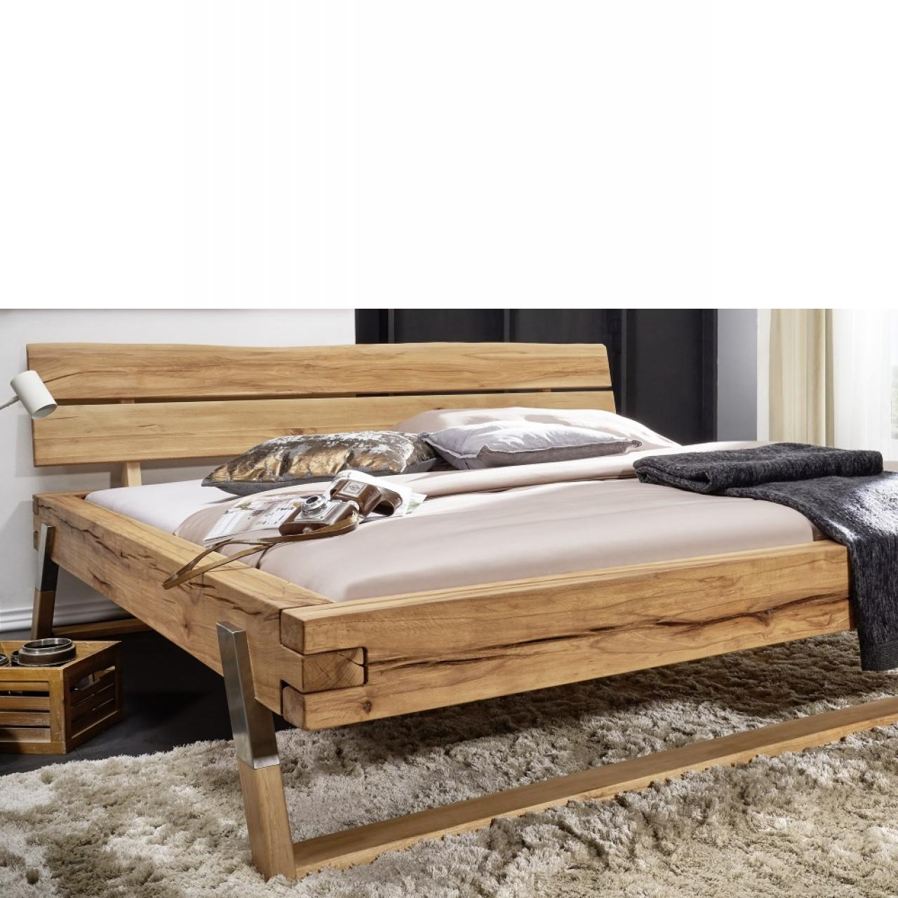 bett wildbuche ge lt massivholz 180x200 cm m bel. Black Bedroom Furniture Sets. Home Design Ideas