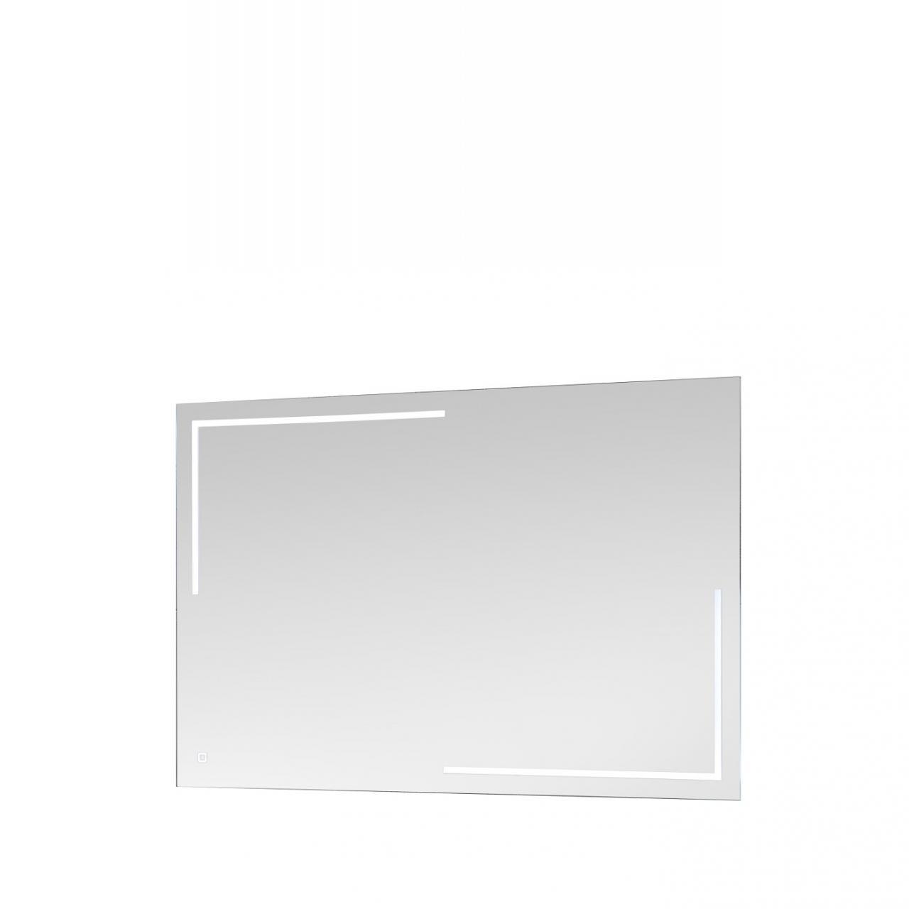 Spiegel 54-019 inkl. LED-Licht Touch Lichtschalter Badezimmer Gäste-WC Bad