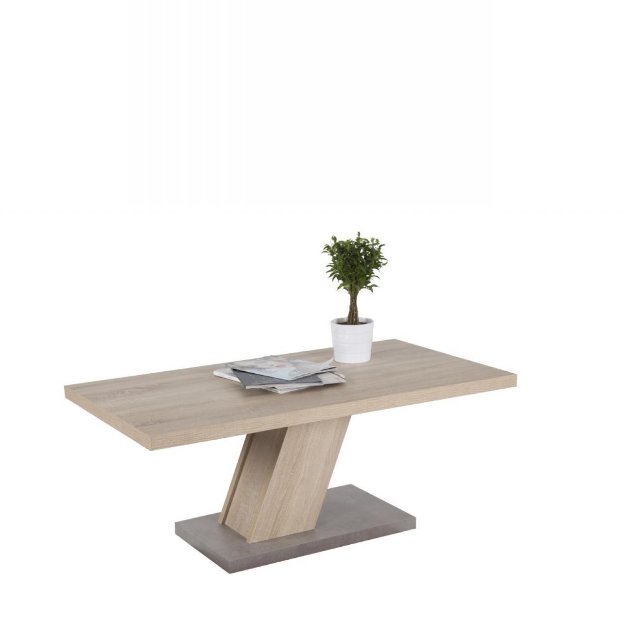 Couchtisch Innsbruck 3 Sonoma Betonoptik Wohnzimmertisch Stubentisch Tisch