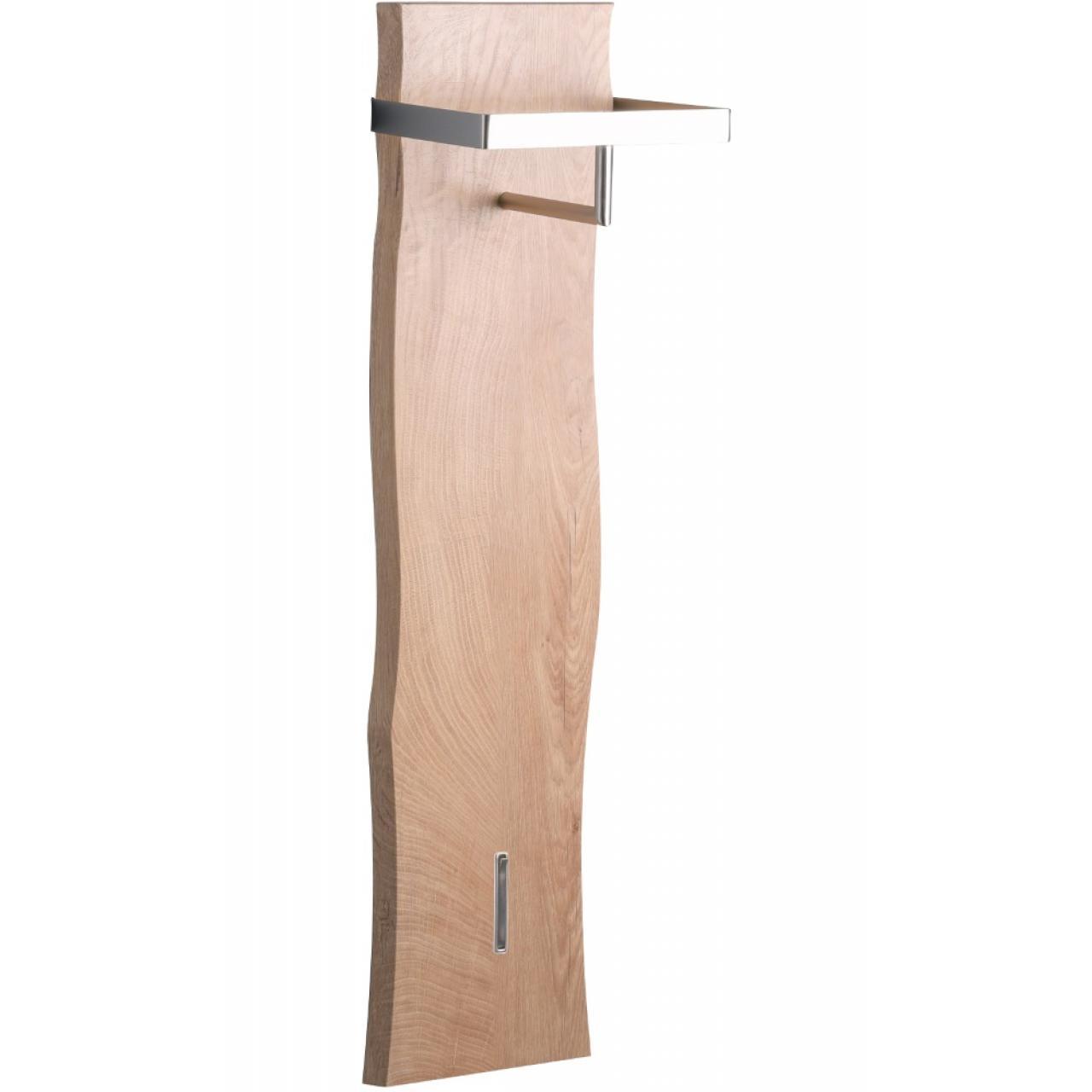Garderobe Zürs 1 mit Baumkante - Eiche Dekor