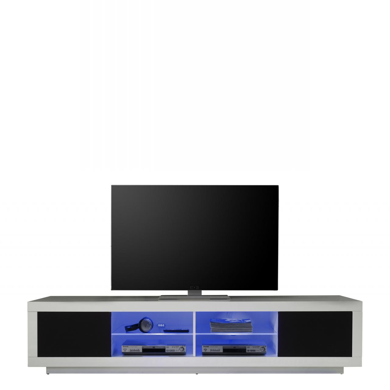 tv lowboard skandinavisch tv lowboard patch moebilia living tv lowboard devonaja in wei eiche. Black Bedroom Furniture Sets. Home Design Ideas