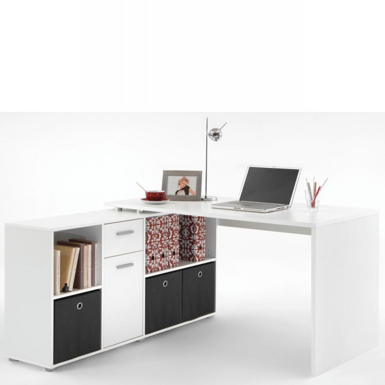 Schreibtisch Lex Weiß