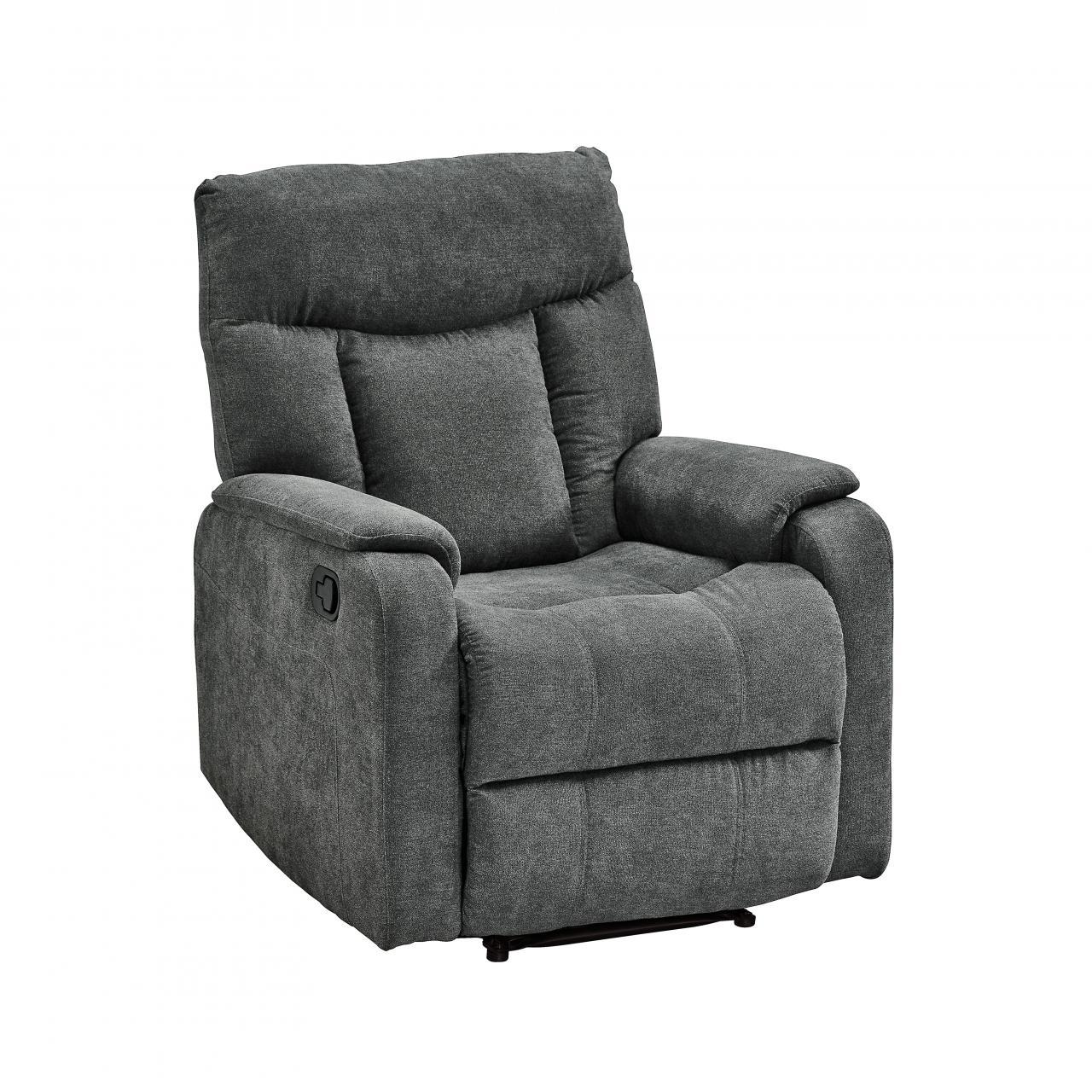 TV-Sessel 315-1 Grau Relaxliner Relaxsessel Sessel Polstermöbel Stoff