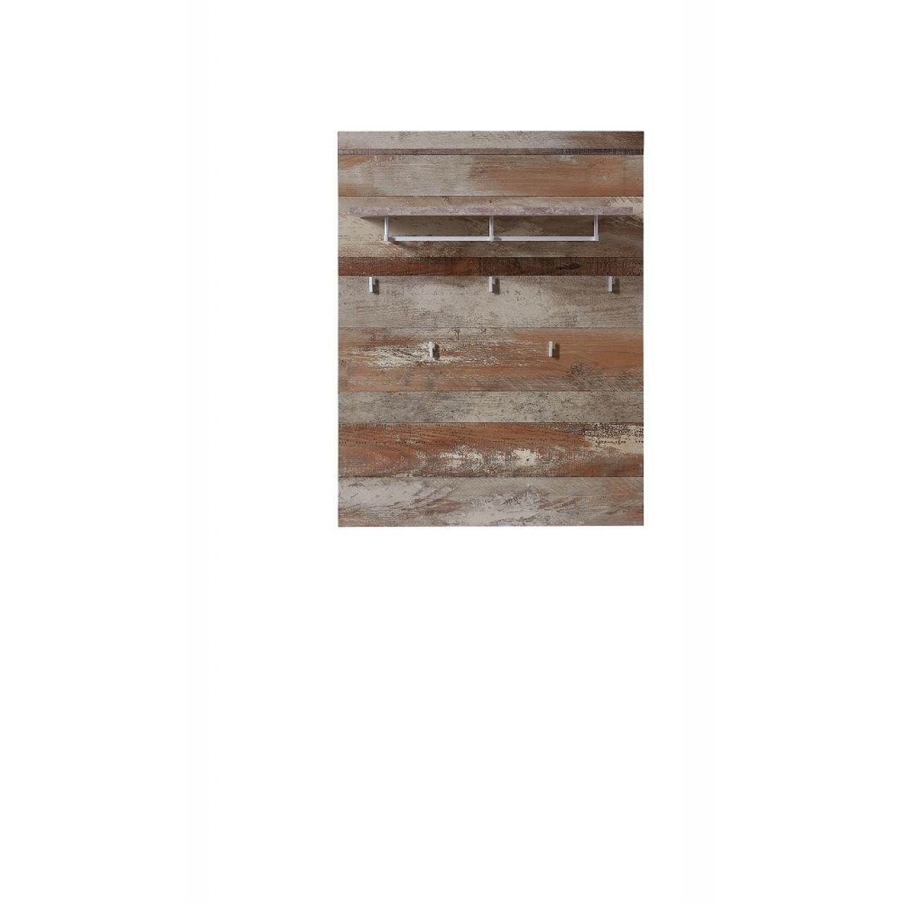 Garderobenpaneel Crown-X Driftwood Nb. Flur Diele Garderobe Paneel