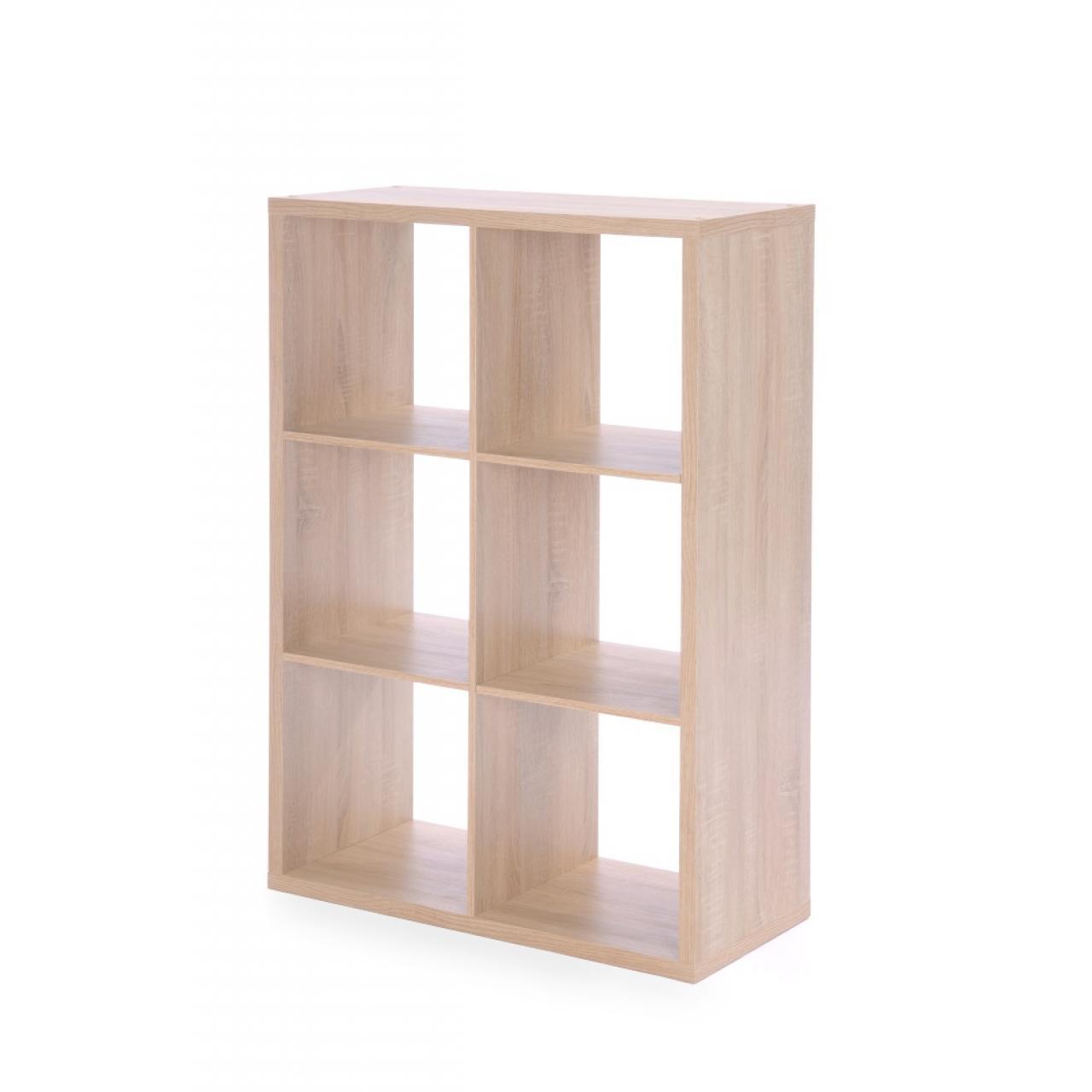 raumteiler max sonoma eiche 6 offene f cher m bel j hnichen center gmbh. Black Bedroom Furniture Sets. Home Design Ideas