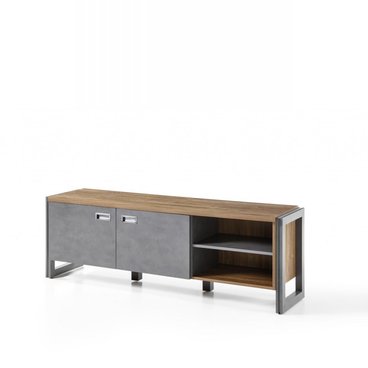 lowboard detroit wohnw nde wohnen m bel j hnichen. Black Bedroom Furniture Sets. Home Design Ideas