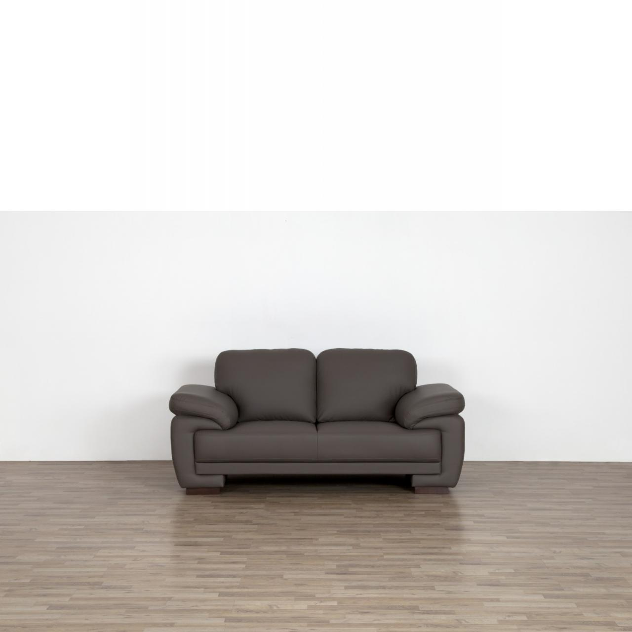 2er Sofa Neve in braun