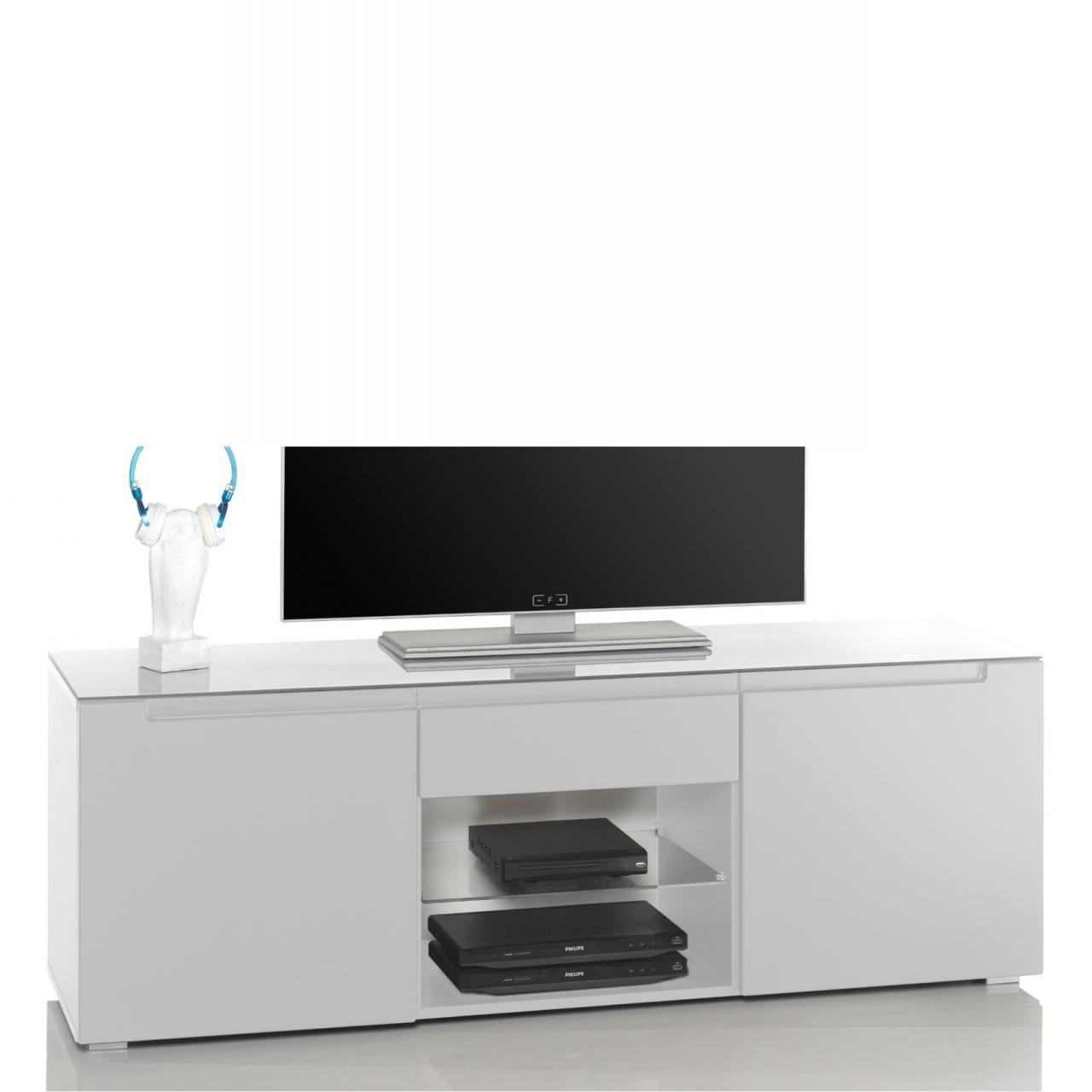Lowboard 6 - Tiger - weiß