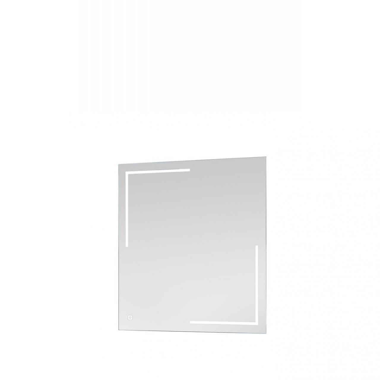 Spiegel 54-017 inkl. LED-Licht Touch Lichtschalter Badezimmer Gäste-WC Bad