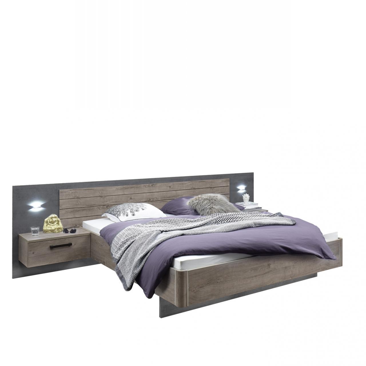 Bettanlage Palma - mit Nachtkommoden