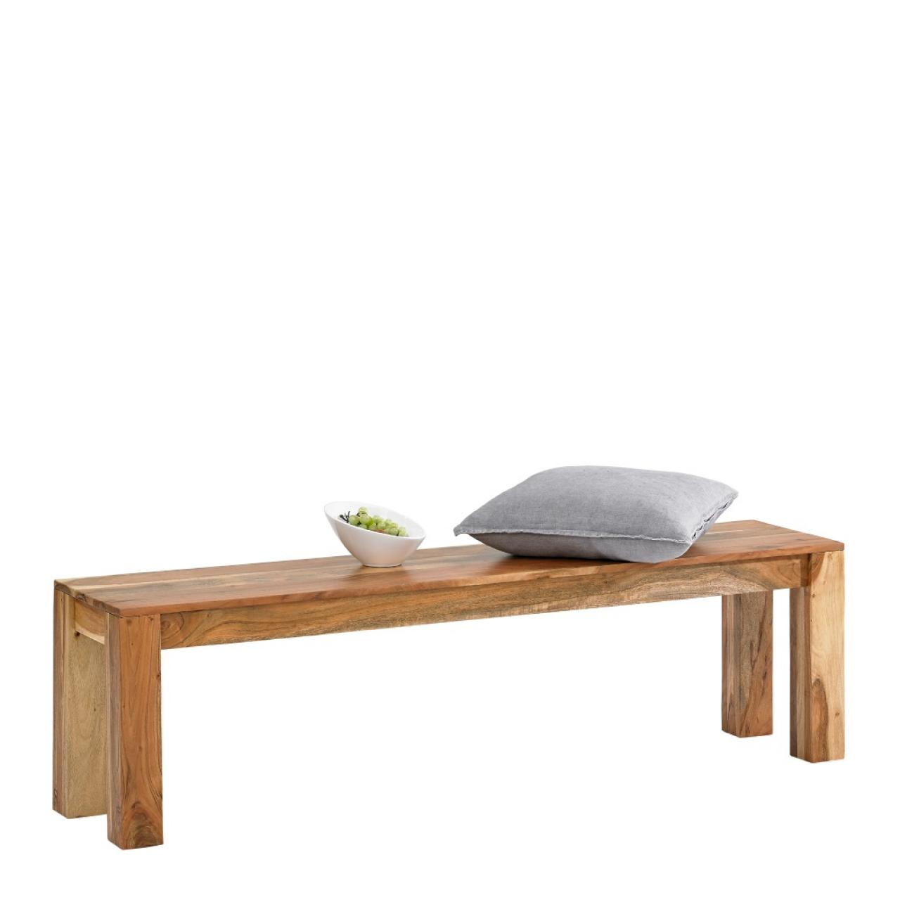 Bank Vision 2830 Akazie Holz Massiv Sitzbank Bank Küche Esszimmer